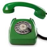 Symbol Grünes Telefon